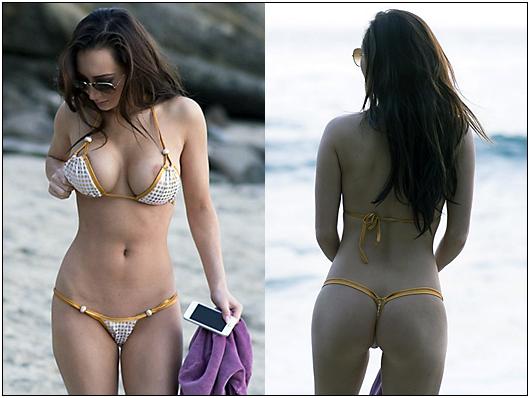 amy markham beach bikini