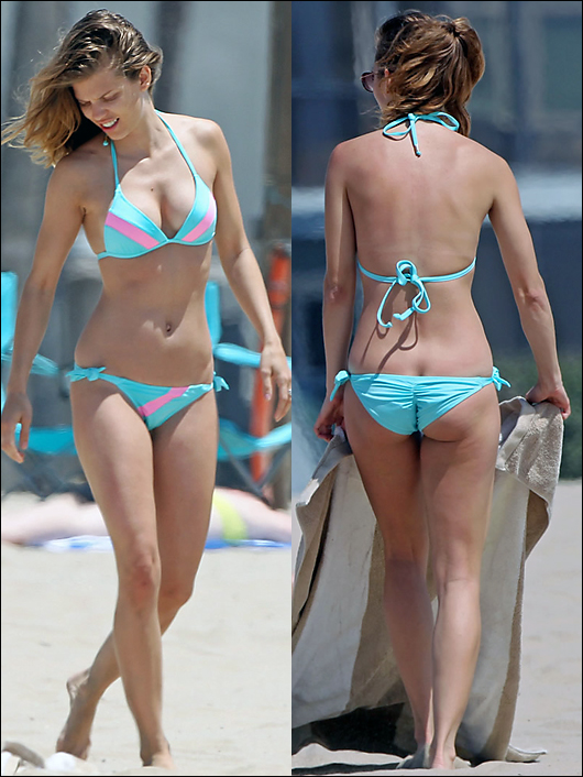 annalynne mccord beach booty with coin slot