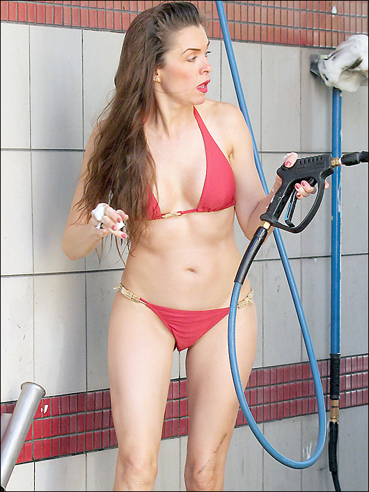 alicia arden bikini car wash