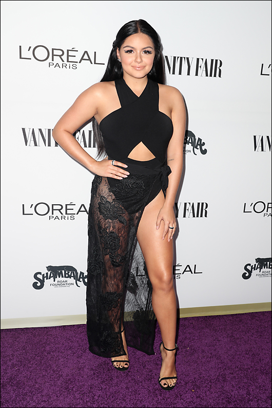 ariel winter vanity fair & l'oreal
