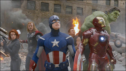 avengers team image