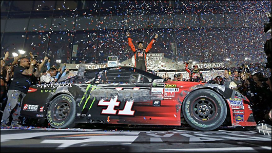 kurt busch wins 2017 daytona 500