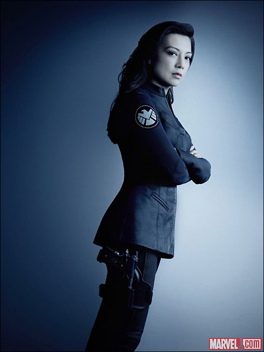 agents of s.h.i.e.l.d. melinda may