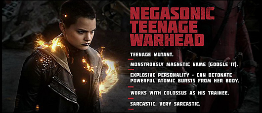 deadpool movie character profile -- negasonic teenage warhead