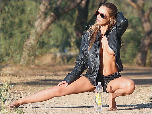 charlie riina topless
