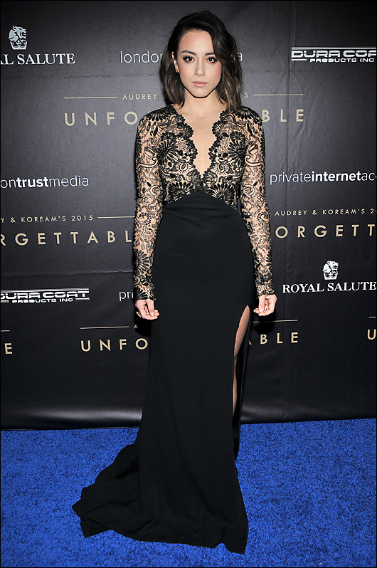 chloe bennett evening dress
