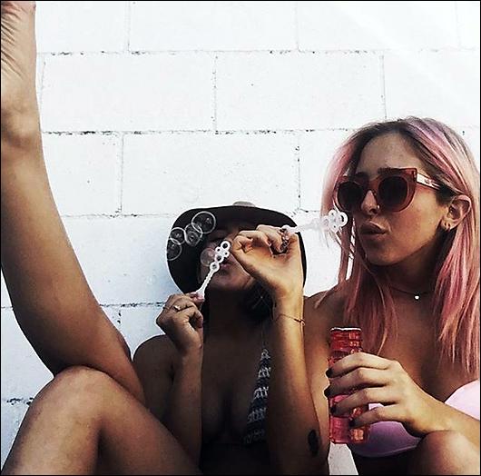 chloe bennet bikini instagram