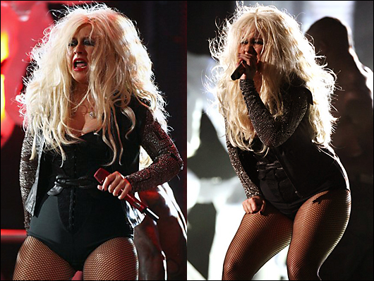 christina aguilera hot & heavy