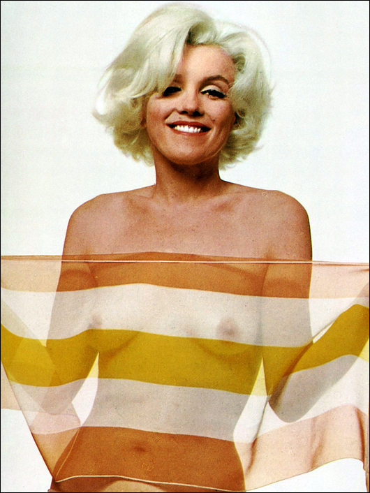 Marilyn Monroe see through