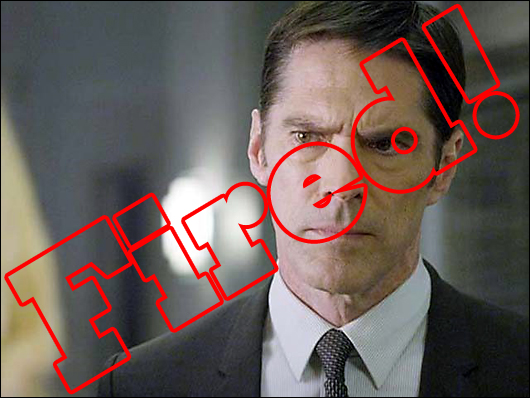 thomas gibson fired from criminal minds
