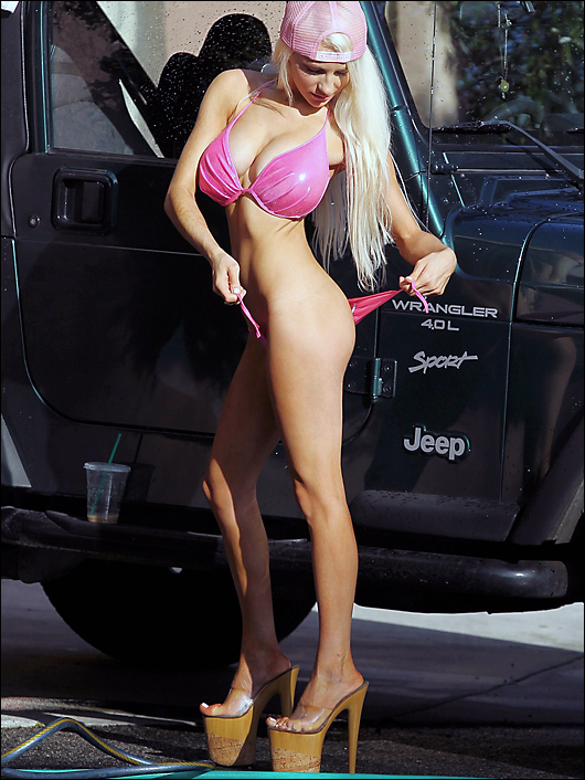 courtney stodden car wash