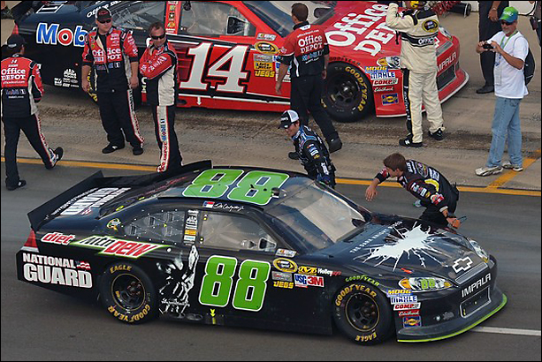 dale jr. wins at michigan
