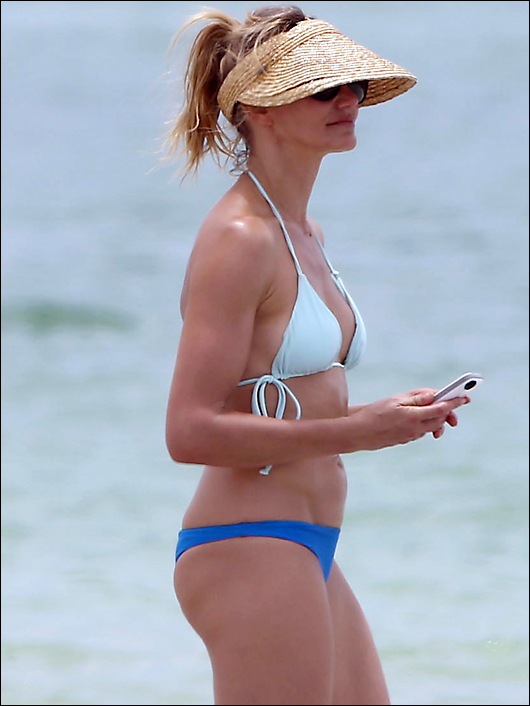 Cameron diaz see through bikini have kept