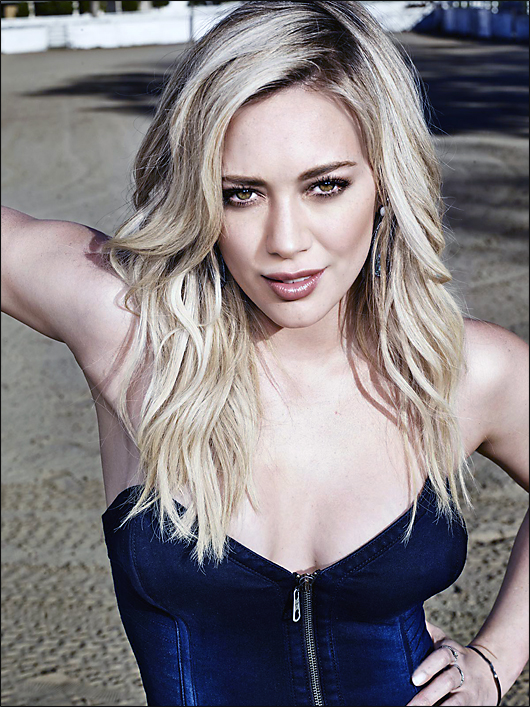 hilary duff shape magazine