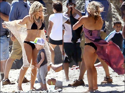 hilary duff bikini 2014