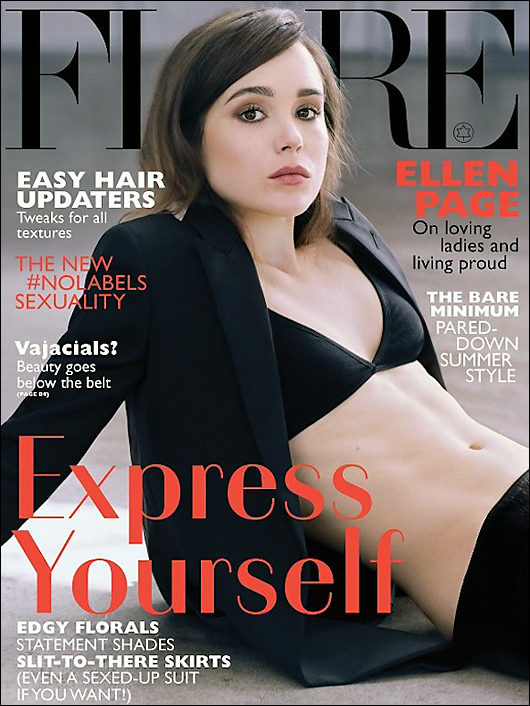 ellen page flair magazine