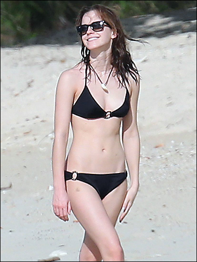 emma watson bikini
