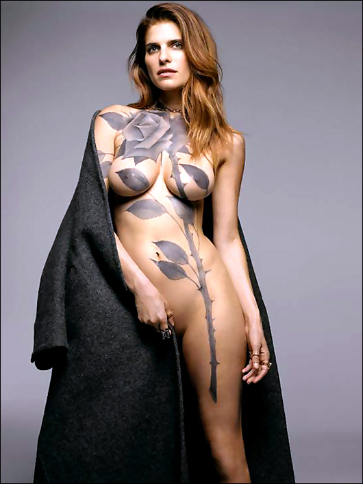 lake bell bodypaint
