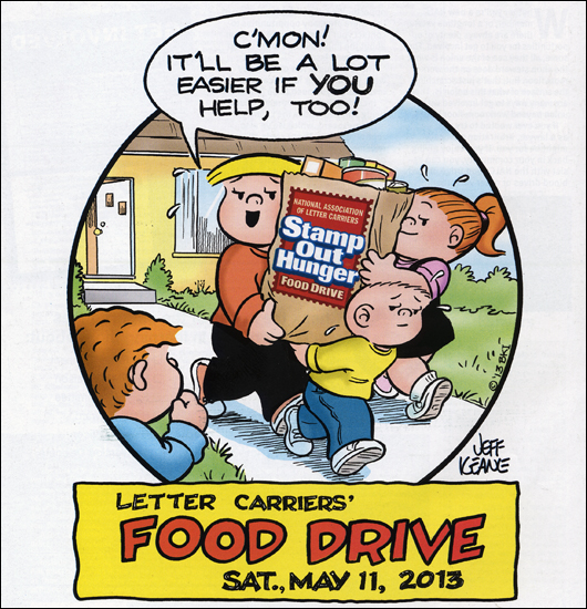 Here's My Thing: Letter Carrier's Food Drive
