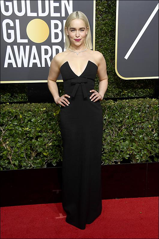 Emilia clarke 2018 golden globes