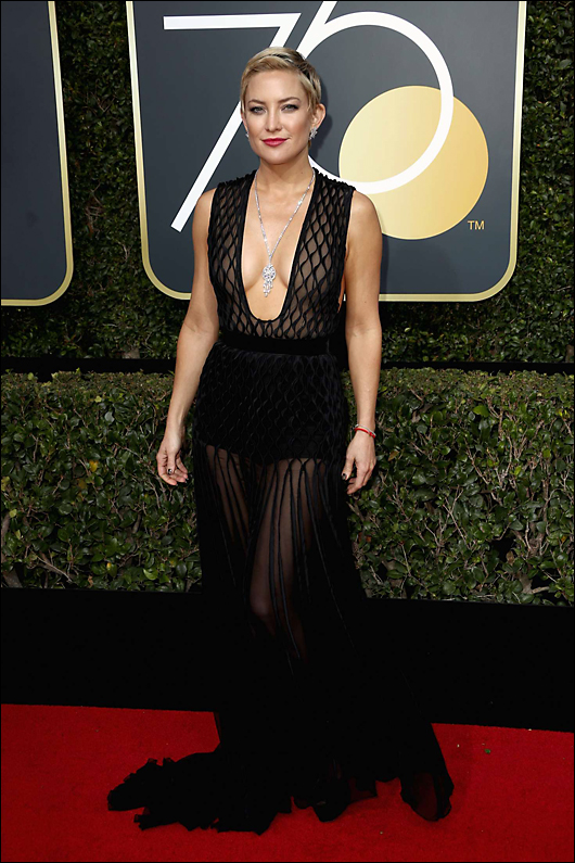 kate hudson 2018 golden globes