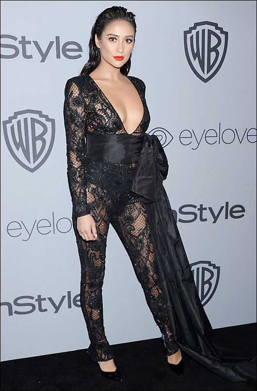 shay mitchell 2018 golden globes