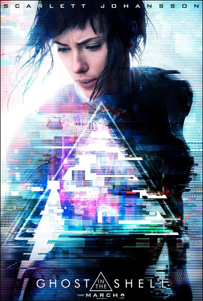 ghost in the shell 2017 movie poster