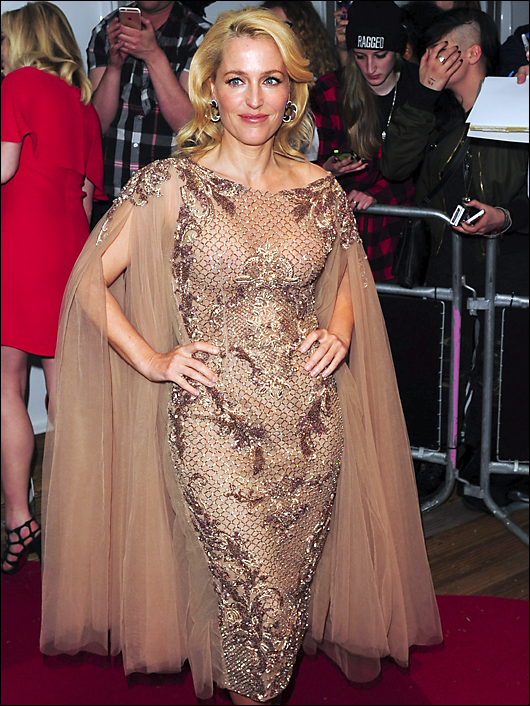 gillian anderson glamour awards