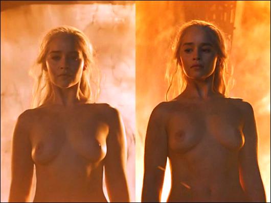 emilia clarke cgi nudity