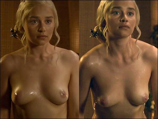 emilia clarke nudity