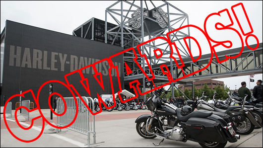 harley davidson usa owners are cowards