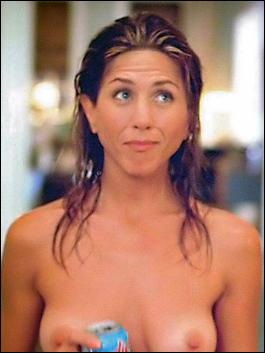 Jennifer aniston topless nipples