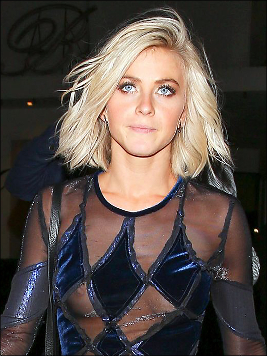 julianne hough see thru nipples