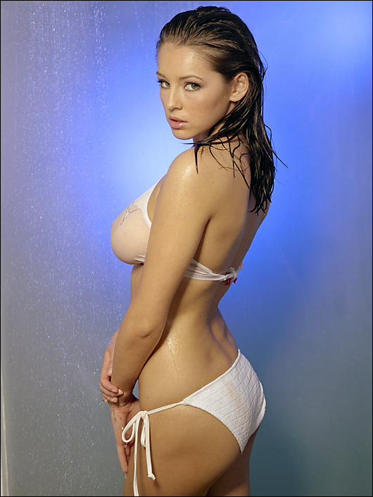 keeley hazell see through