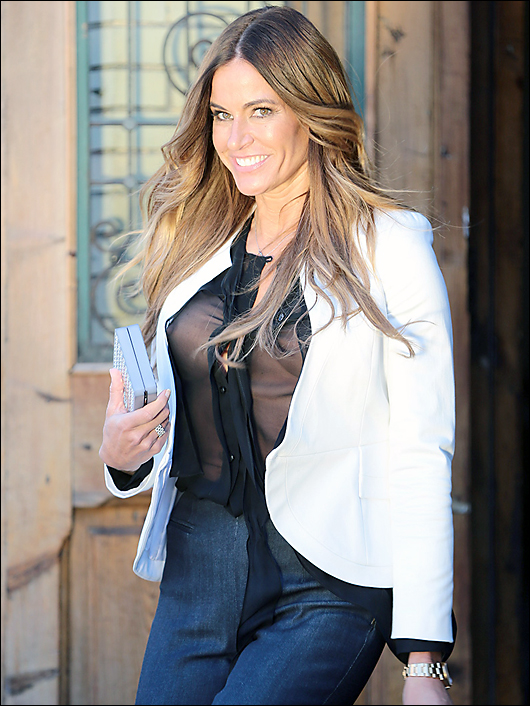 kelly bensimon see thru nipples