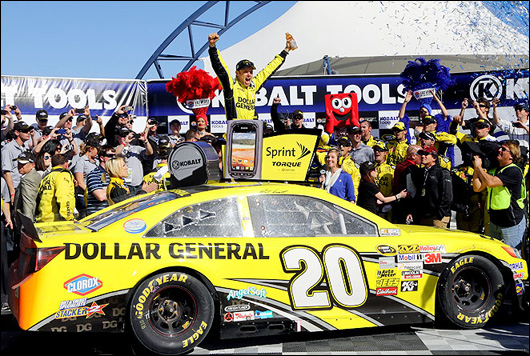 matt kenseth wins at vegas