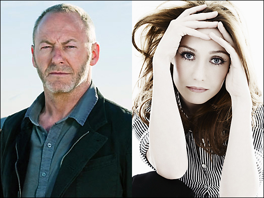 liam cunningham & carice van houten