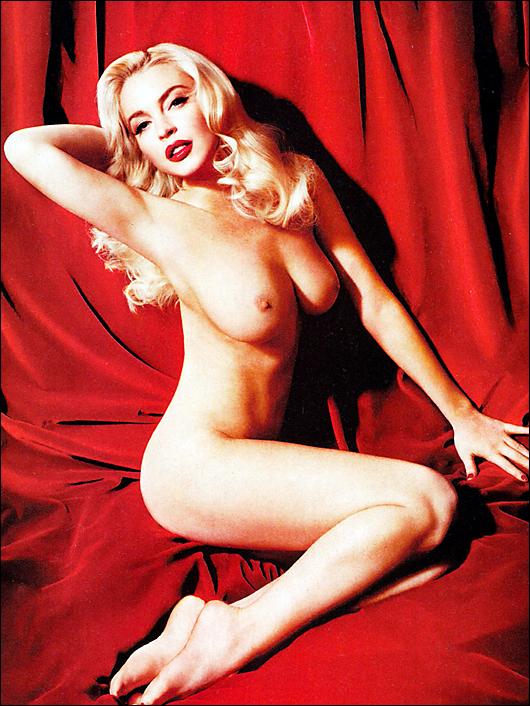 lindsay lohan playboy nude