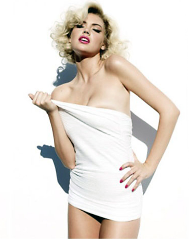 kate upton channels marilyn monroe