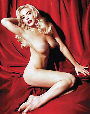 lindsay lohan playboy