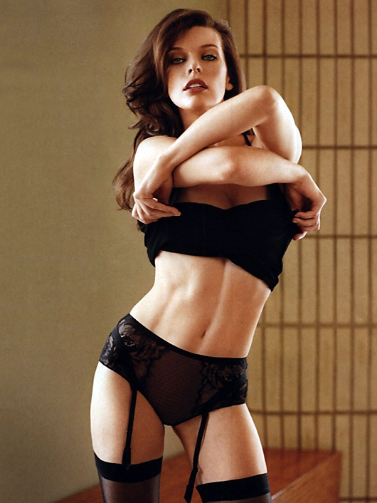 milla jovovich maxim australia