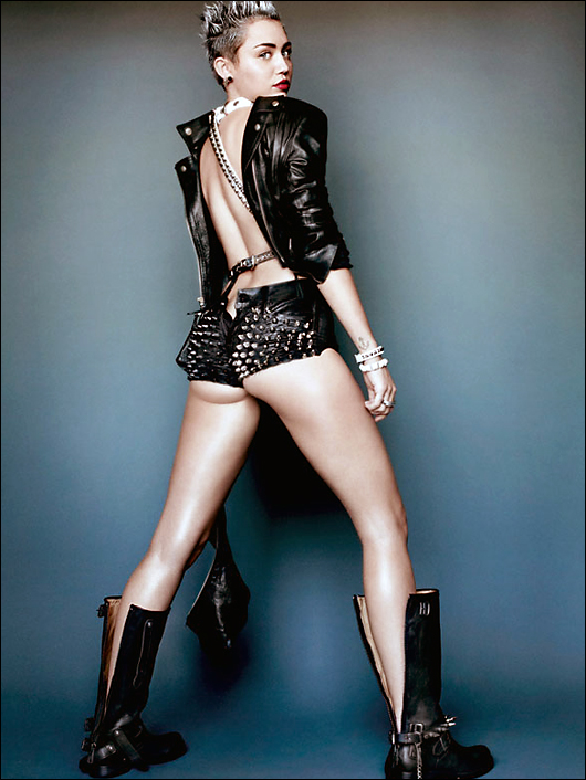 miley cyrus hot in v magazine