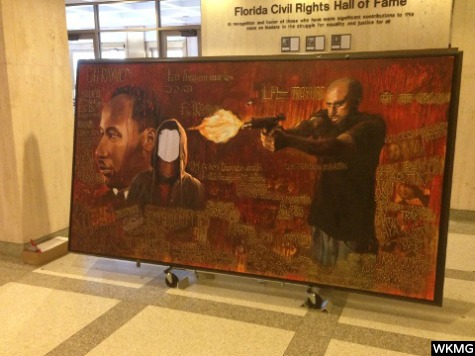 trayvon martin mural in tallahassee