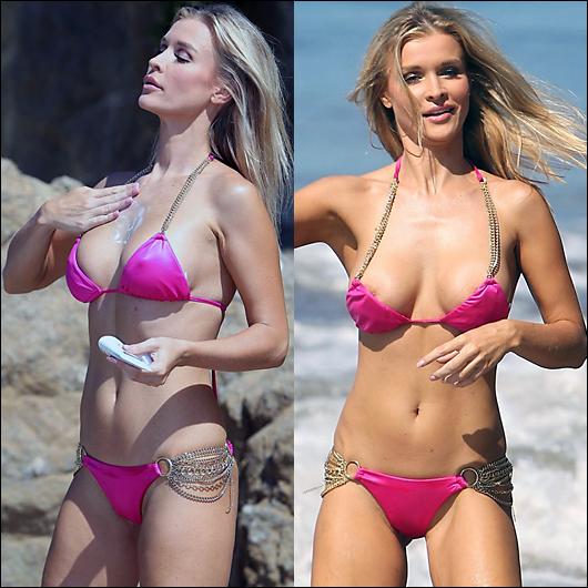 joanna krupa pink bikini