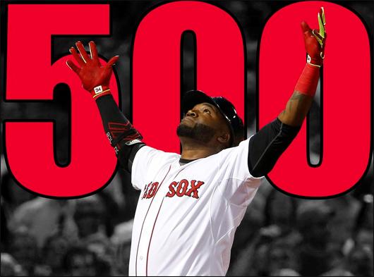 David Ortiz hits #500