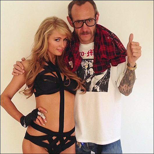 paris hilton with terry richardson