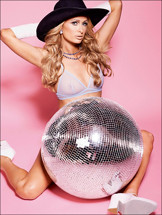 paris hilton v magazine