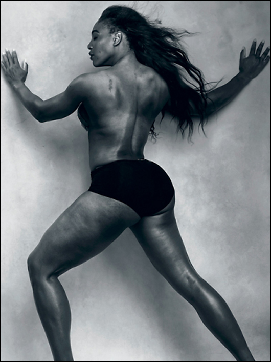 serena williams pirelli tire calendar