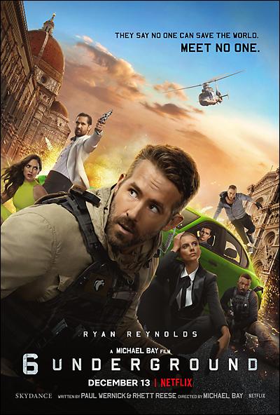 6 underground movie poster/review