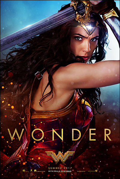 wonder woman poster movie review